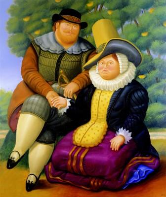 루벤스와 그의 아내 / 05년, 캔버스에 유채 / 205*173cm